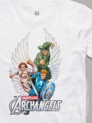 Marvellous Archangels Catholic Tshirt